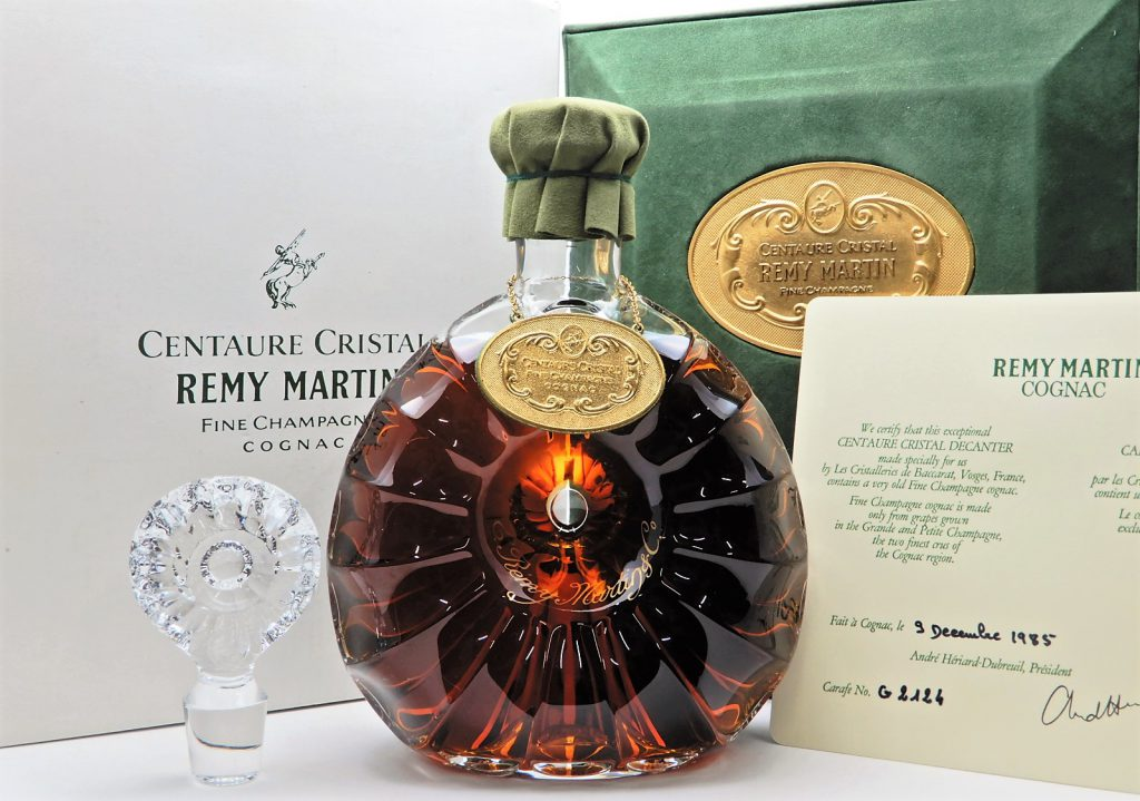 ★REMY MARTIN レミーマルタン セントー クリスタル 700ml (替え栓/箱付き)  バカラボトル★