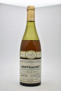 ★DRC LEROY ROMANEE-CONTI ルロワ ロマネコンティ MONTRACHET モンラッシェ 1988 ワインをお買取り★