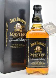★JACK DANIEL'S ジャックダニエル マスター ディスティラー 750ml バーボン ウイスキーをお買取り★