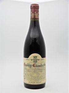 ★ジュヴレ シャンベルタン 1993 クロード デュガ 750ml フランス 赤ワインをお買取り★