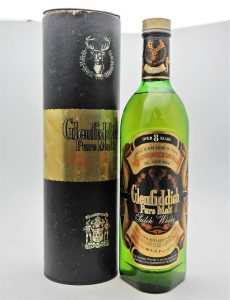 ★古酒 Glenfiddich グレンフィディック 8年 ピュアモルト 750ml スコッチ ウイスキーをお買取り★