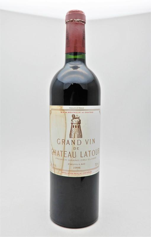 ★GRAND VIN DE CHATEAU LATOUR グラン ヴァン シャトー ラトゥール 1998 750ml ワインをお買取り★