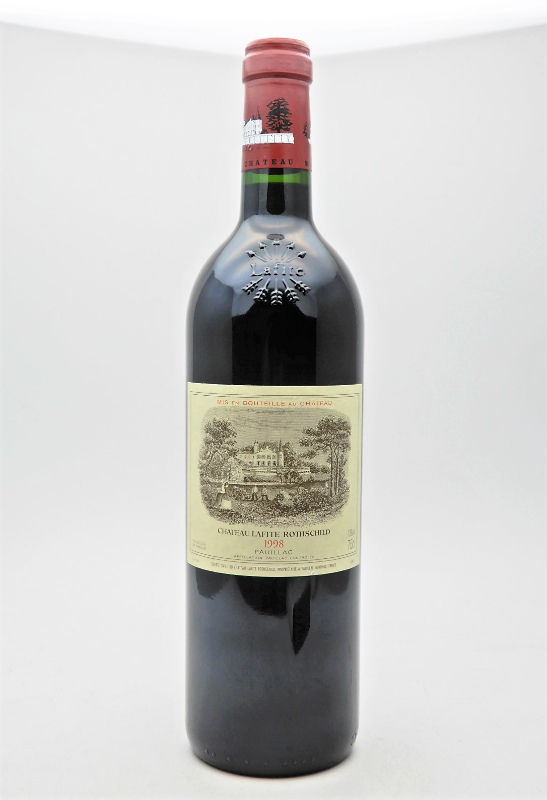 ★CHATEAU LAFITE ROTHSCHILD シャトー・ラフィット・ロートシルト 1998 750ml 赤ワインをお買取り★