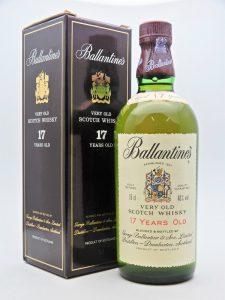 ★Ballantine's バランタイン 17年 ベリー オールド 750ml 43度 箱付き スコッチ ウイスキー をお買取り★