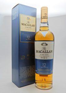 ★The MACALLAN ザ マッカラン 12年 ファインオーク シングルモルト スコッチ ウイスキー 700mlをお買取り★